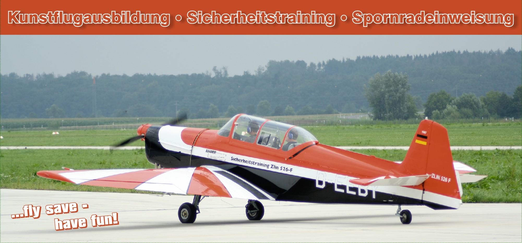 """Sicherheitstraining ist die """"Lebensversicherung"""" für jeden Piloten!"""